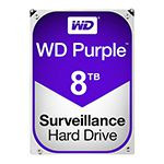 HDD 8TB SATA3 256MB PURPLE WESTERN DIGITAL