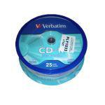 CD-R VERBATIM 700MB 52X EXTRA PROT. CAKE 25 B