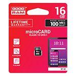 MICRO SD CARD 16GB CLASS 10 GOODRAM