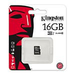 MICRO SD CARD 16GB CLASS 4 FARA ADAPTOR KINGSTON