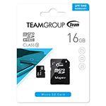 MICRO SD CARD 16GB CU ADAPTOR TEAMGROUP