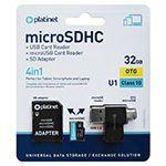 MICRO SD CARD 32GB OTG/CARD READER/ADAPTOR PLATINET