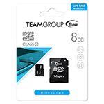 MICRO SD CARD 8GB CU ADAPTOR TEAMGROUP