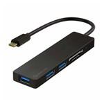 DOCKING STATION 5 IN 1 TIP C HUB 3X USB 3.0 CARD READER