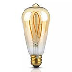 BEC LED ST64 E27 5W CU FILAMENT 2200K MODEL EDISON