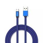 CABLU MICRO USB 1M RUBY EDITON - ALBASTRU