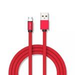 CABLU MICRO USB 1M RUBY EDITION - ROSU